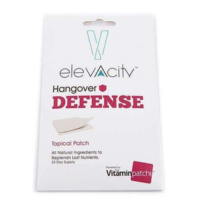 Elevacity Hangover Defense Patch (30 Patches) - Smart Bean
