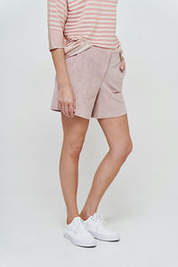 CATNOIR Short veganes Veloursleder