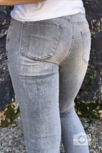 BUENA VISTA Italy Jeans Denim grau destroyed