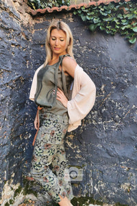 MADE IN PARIS Top khaki