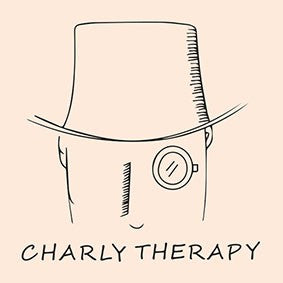 CHARLY THERAPY Sonnenbrille Chales in Town Wood Effekt Unisex
