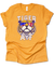 Tiger AF | Cool Tiger in Shades | American Flag Tee | Louisiana TShirt