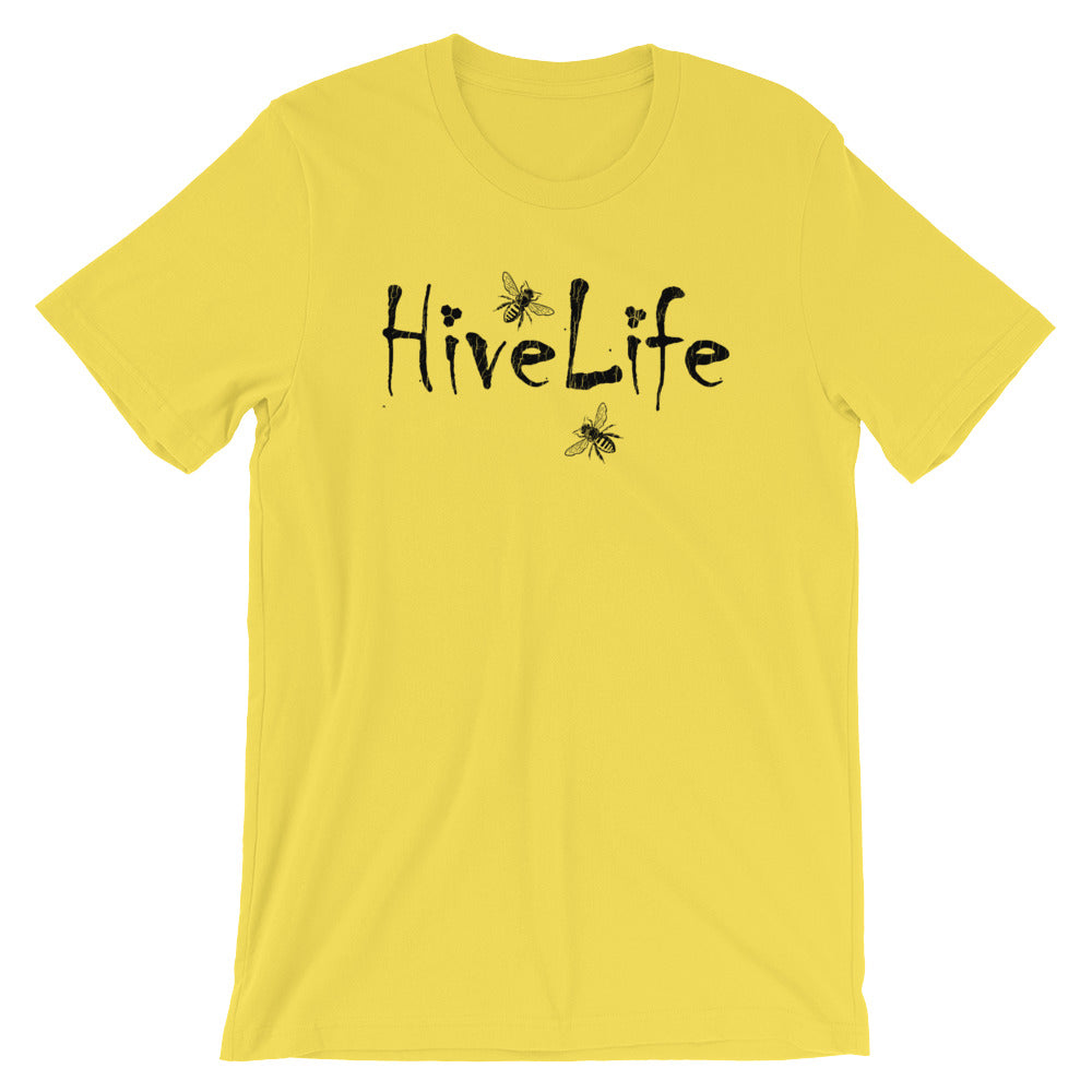 Hive Life, Honey Bee Shirt, Beekeeper T Shirt, Save the Bees TShirt, Unisex Tee