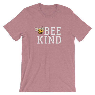 Bee Kind Honey Bee Short-Sleeve Unisex T-Shirt | Ugly Pelican Tees | Heather Orchid