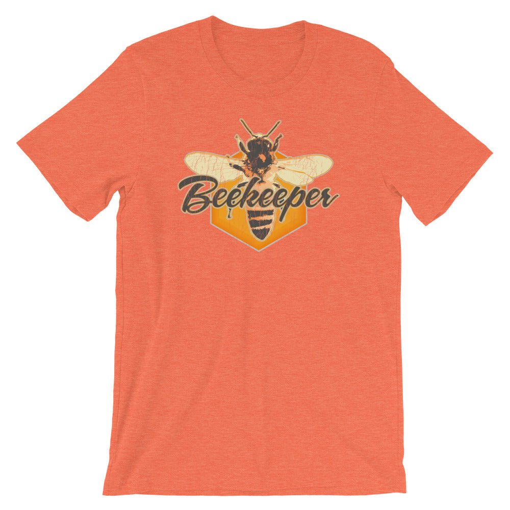 Beekeeper TShirt Honeybee Vintage Distressed Graphic Tee