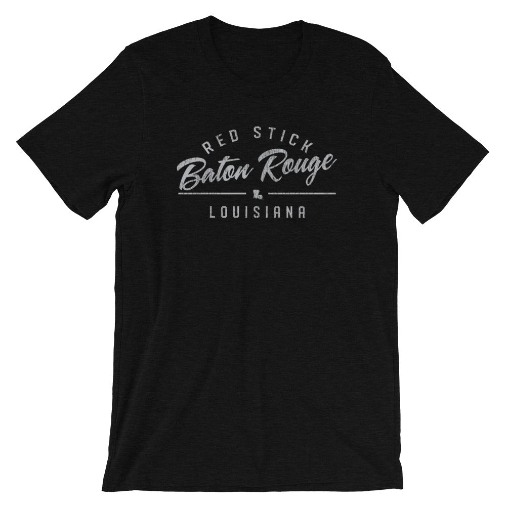Baton Rouge TShirt Red Stick Vintage Distressed Tee