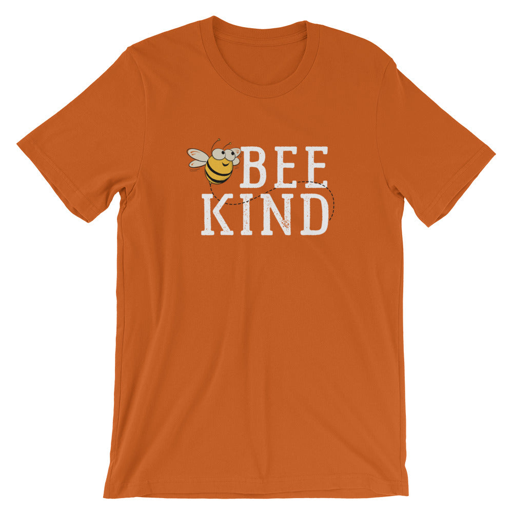 Bee Kind Honey Bee Short-Sleeve Unisex T-Shirt | Ugly Pelican Tees | Autumn