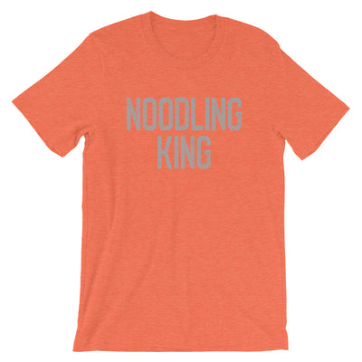 Catfish Noodling TShirt, Noodling King Vintage Look Tee Catfishing Shirt