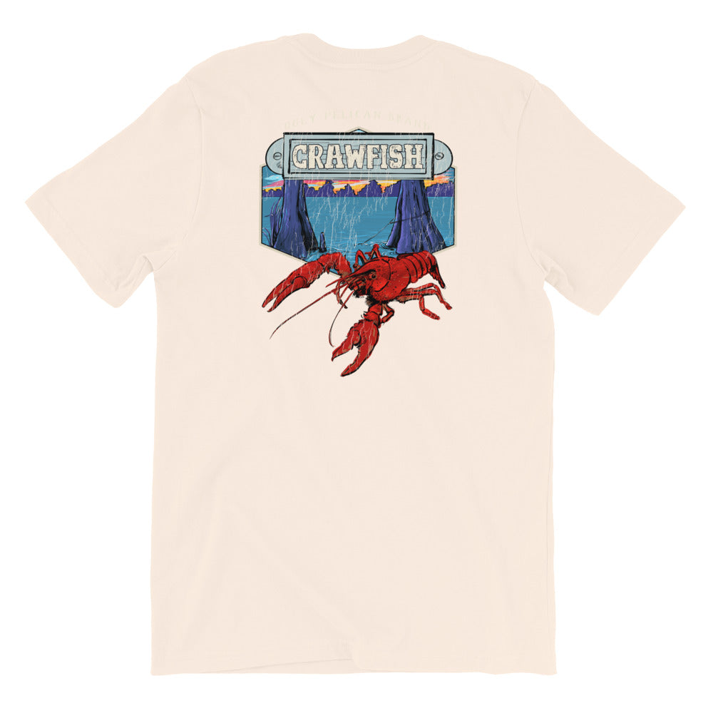 Louisiana Swampland Crawfish TShirt