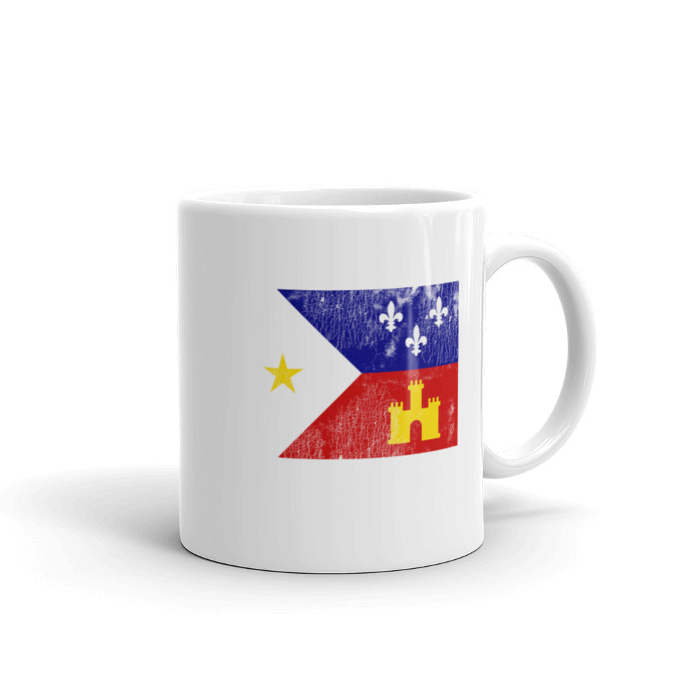 Acadiana Flag Louisiana Mug