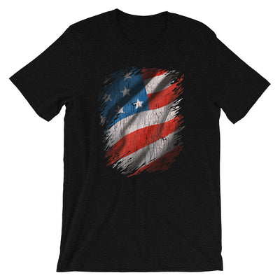 American Flag T-Shirt, Patriotic Shirt, Cool USA Gift, July 4th Shirt, Unisex Tee, Tee Shirt