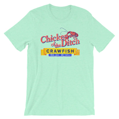 Chicken of The Ditch Crawfish T Shirt