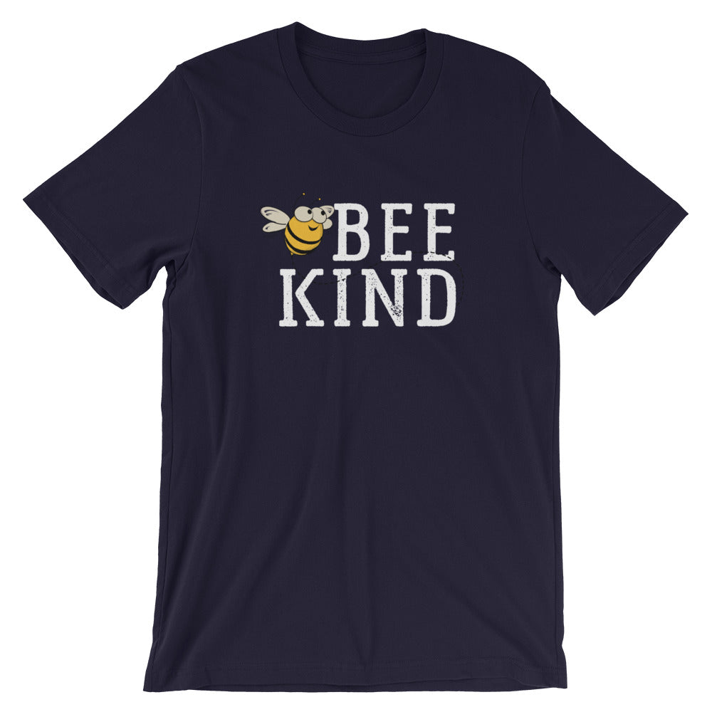 Bee Kind Honey Bee Short-Sleeve Unisex T-Shirt | Ugly Pelican Tees | Navy