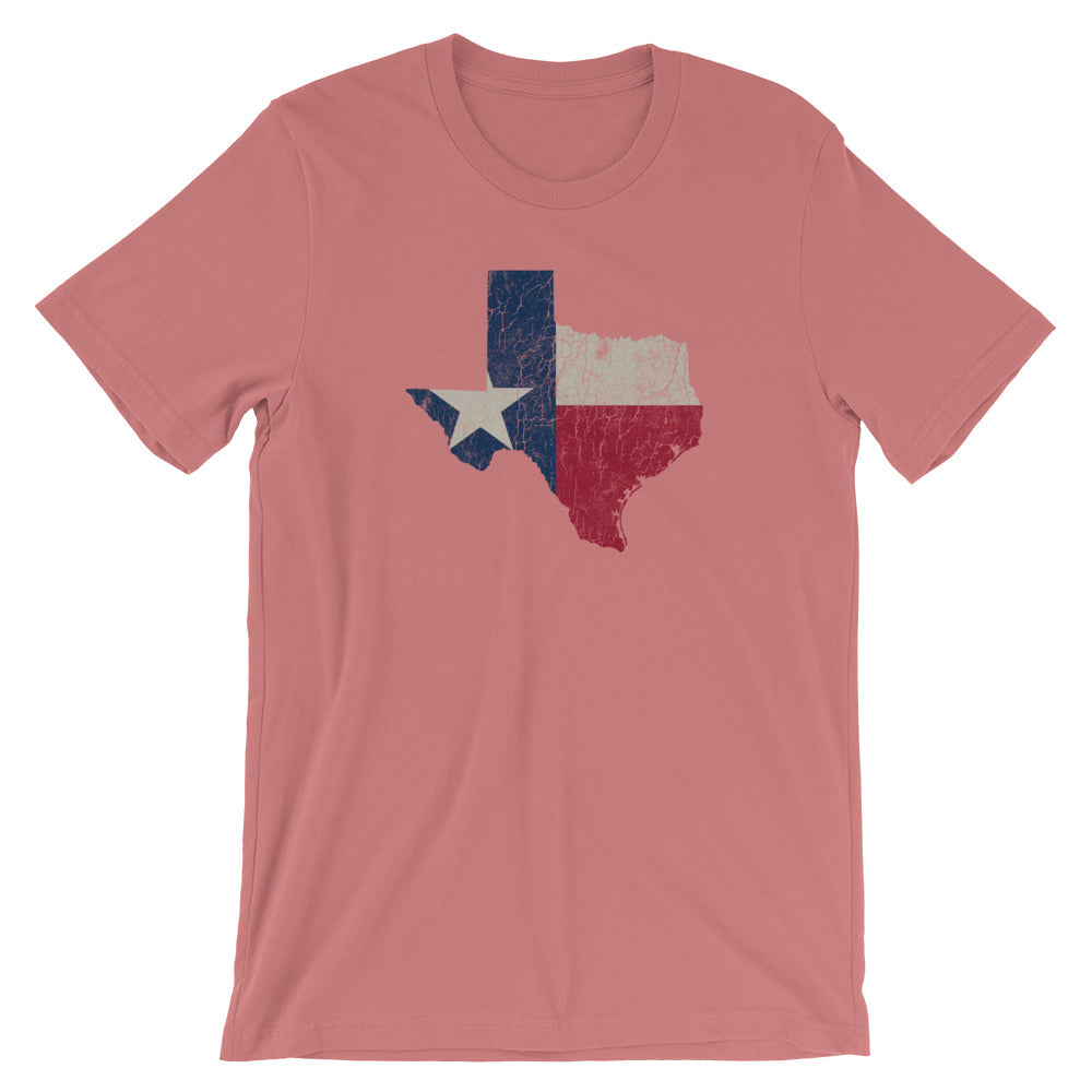 Texas T-Shirt Short Sleeve Unisex