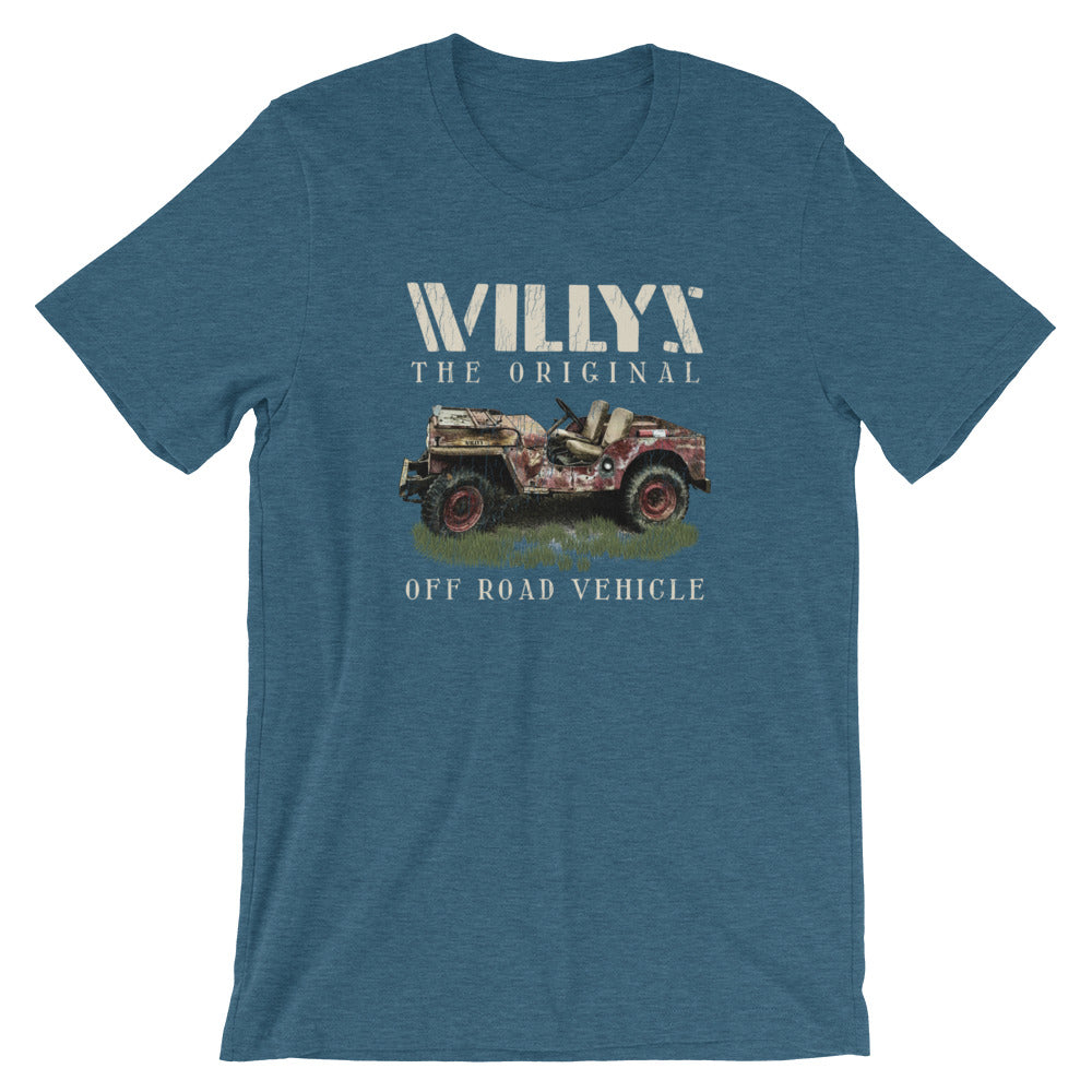 Willys The Original Off Road Vehicle Jeep TShirt