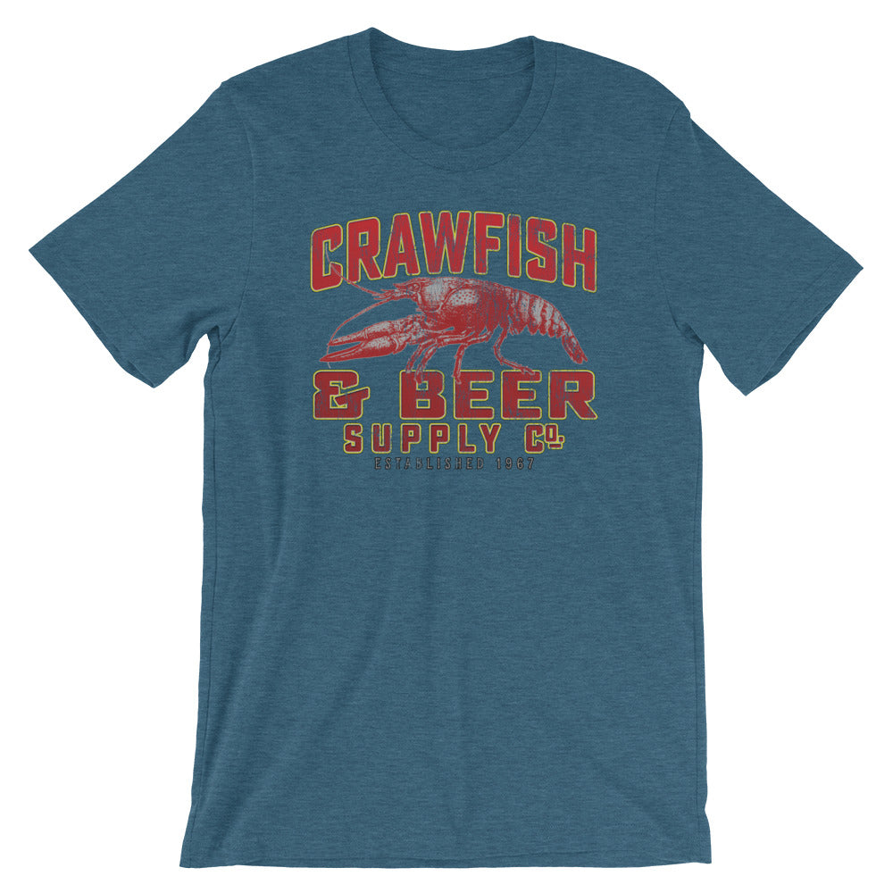 Crawfish and Beer Supply Company Crawfish Boil TShirt