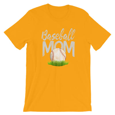 Baseball Mom Shirt, Baseball TShirt distressed graphic unisex tee