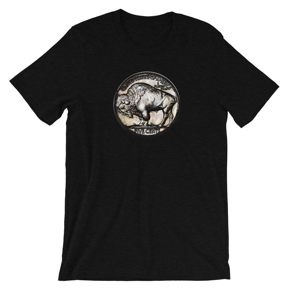Buffalo Nickel Vintage Coin TShirt