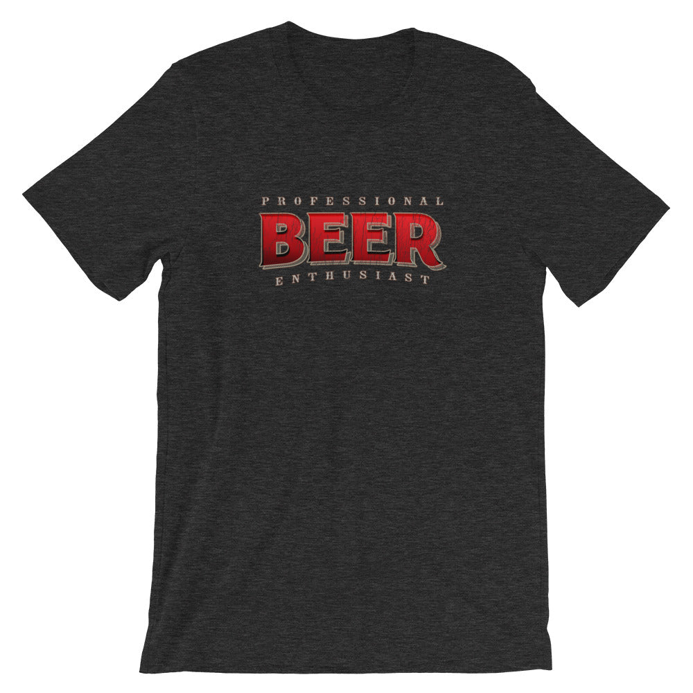 Professional Beer Enthusiast Drinking TShirt
