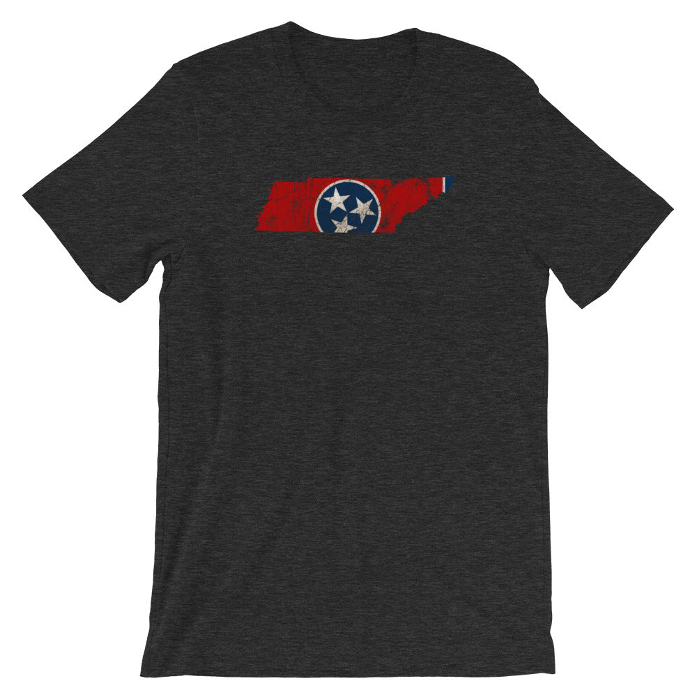 Tennessee State Flag TShirt - VIntage Distressed Graphic Tee