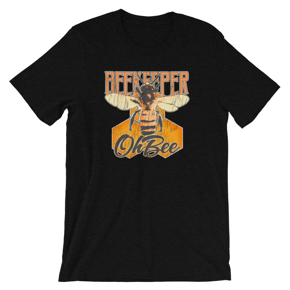 Beekeeper TShirt - Oh Bee. Vintage Retro Look T Shirt for Beekeepers