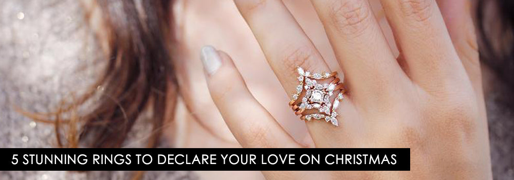 Planning A Proposal This Christmas? Here Are 5 Stunning Rings To Declare Your Love With!
