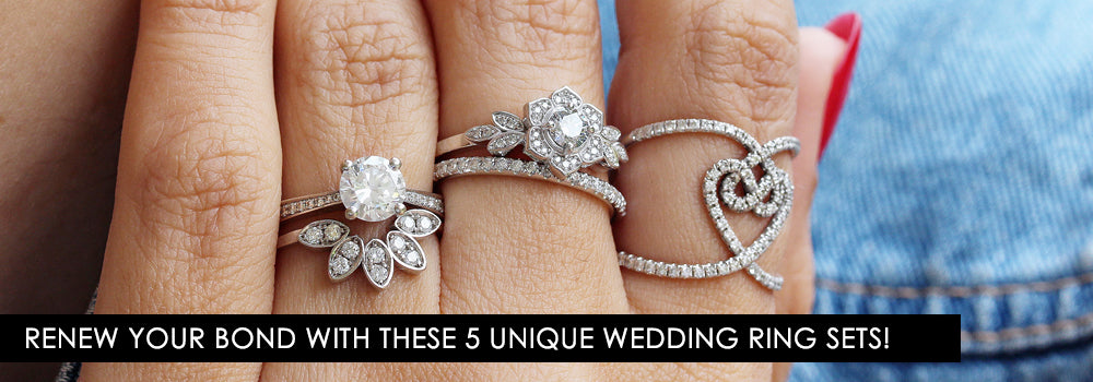 Renew Your Bond With These 5 Unique Wedding Ring Sets!