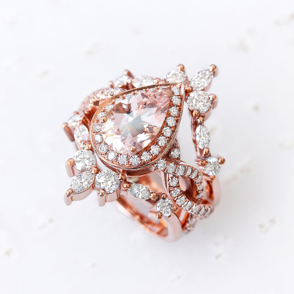 Private Listing for Eljay - 18K Rose Gold, Size 8.75+IGL CERTIFICATE. - sillyshinydiamonds