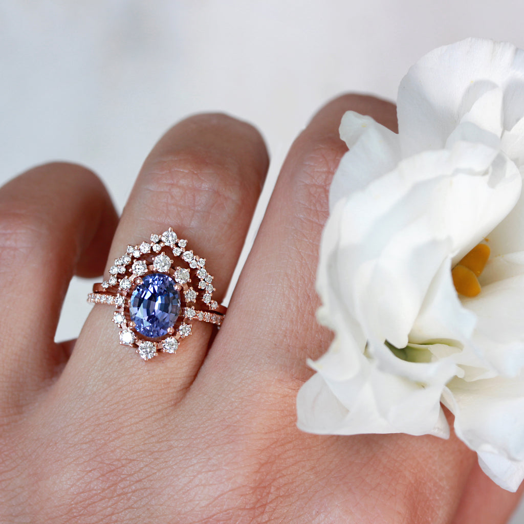 Private listing for Clayton -14K rose gold size 6.5,  Nesting ring for Glory Ring