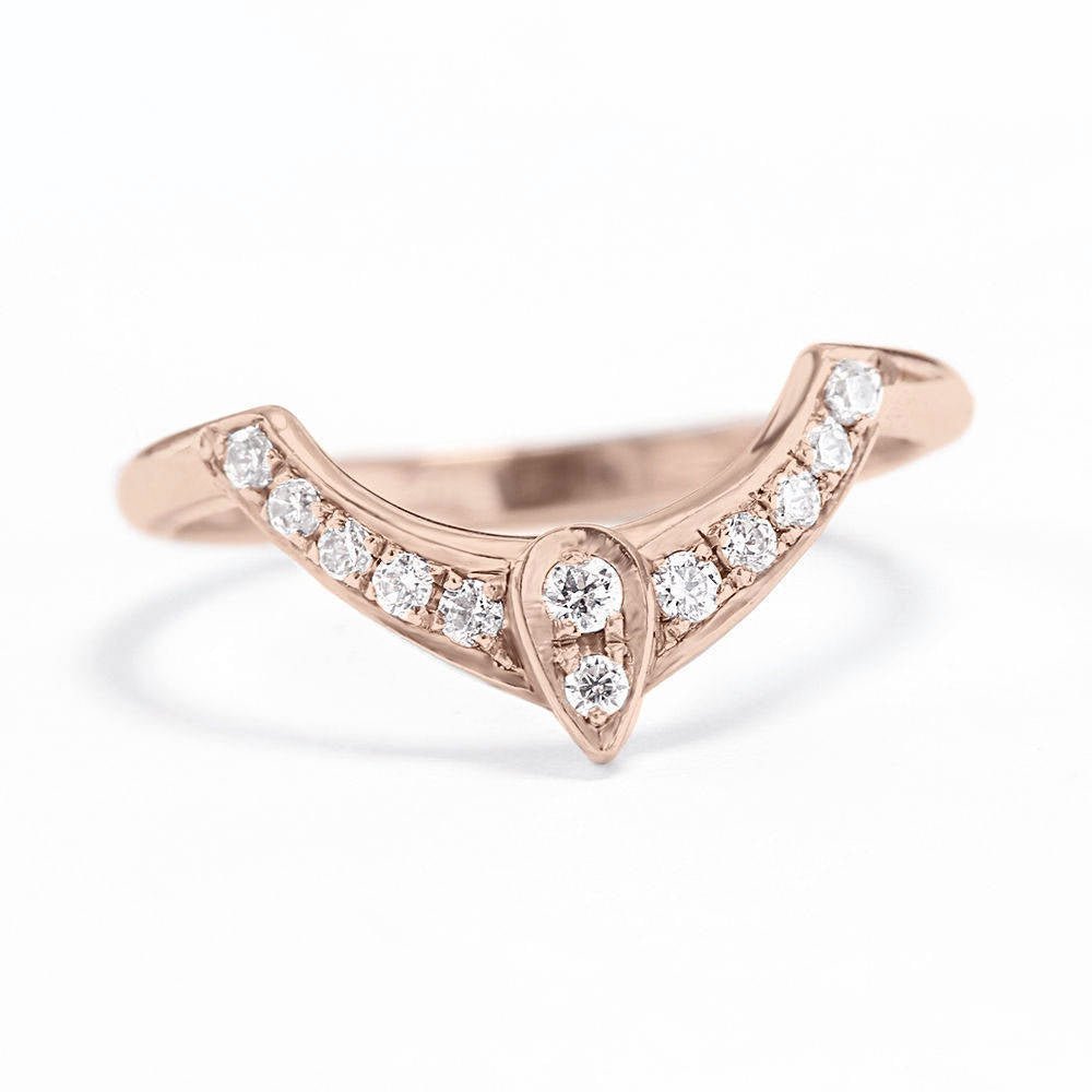 The 3rd Eye Nesting Diamond Wedding Ring