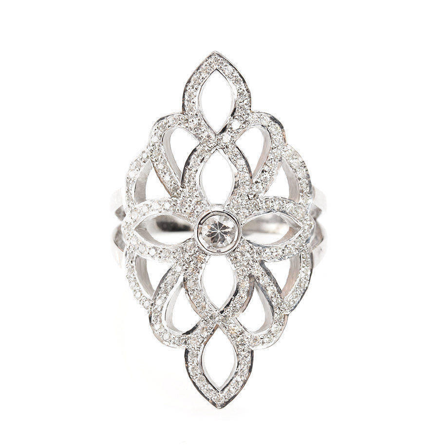 Sophia Lace Diamond Ring, - sillyshinydiamonds