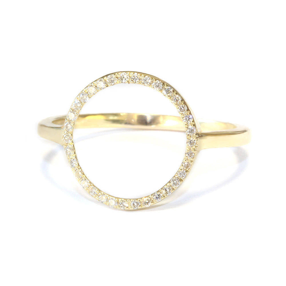 Circle Of Life Diamond Ring - sillyshinydiamonds