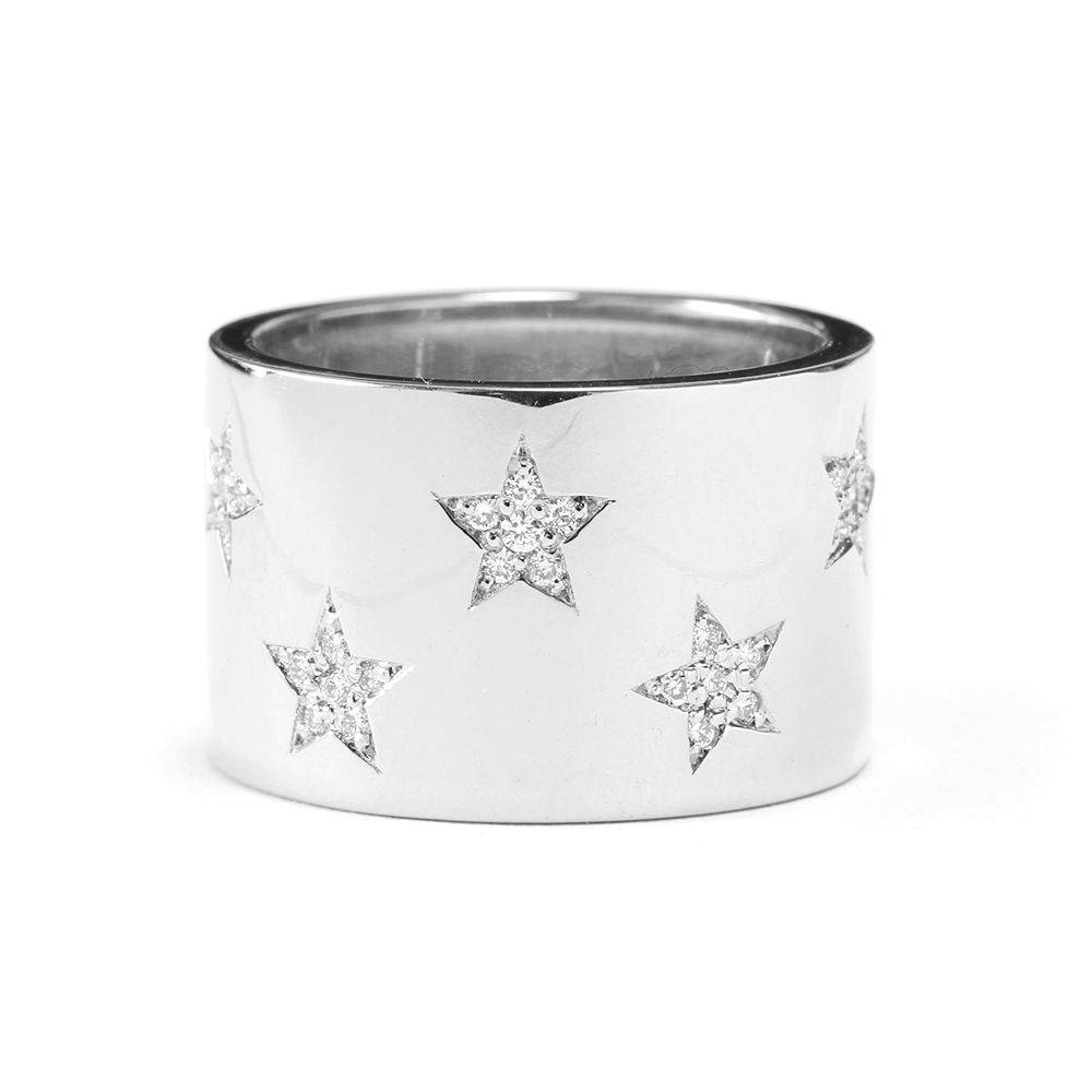 Star Diamond Statement Ring - sillyshinydiamonds