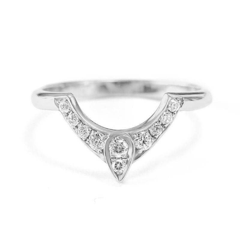 The 3rd Eye - Diamond Nesting Ring - sillyshinydiamonds