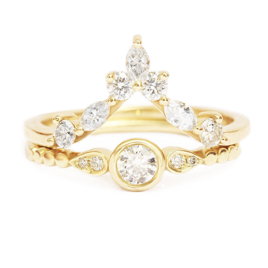 a15f59228295 ... coupon code for milano hermes diamond engagement wedding bridal ring  set 196f1 5ed5f