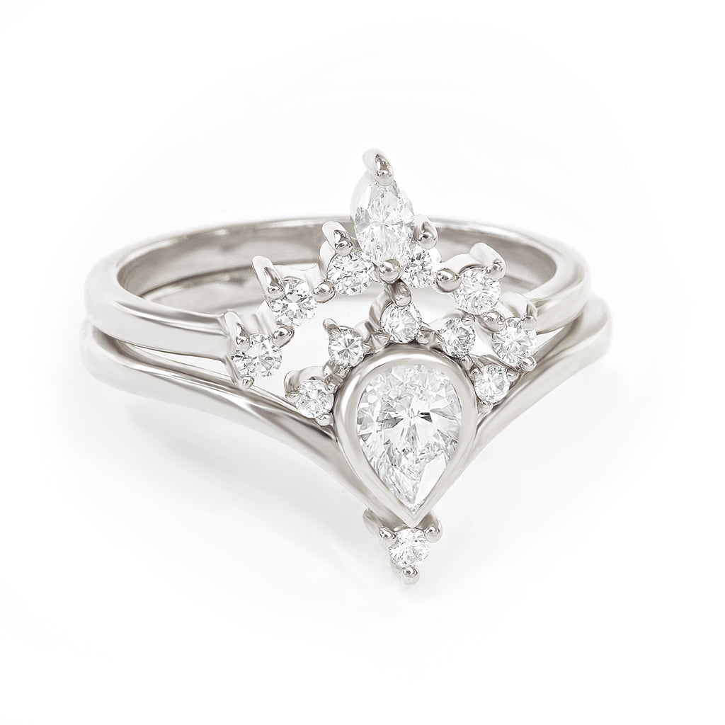 Private Listing for Maredyth & Matthew - 14k White Gold Size 6.75 , Payment plan - sillyshinydiamonds