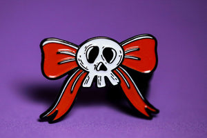 Nightmare Bow - Enamel Pin