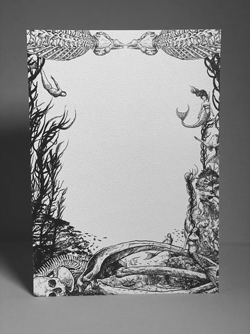 Song of the Deep - Stationery Card