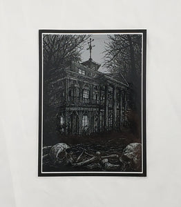 Mansion - Large Sticker