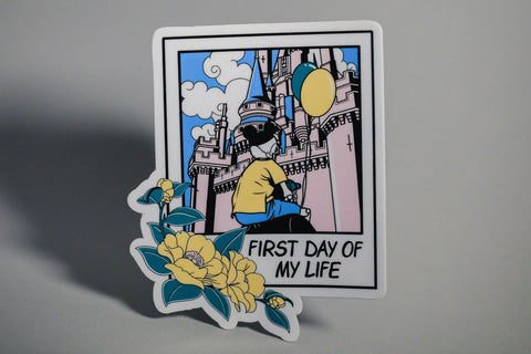 First Day -Sticker