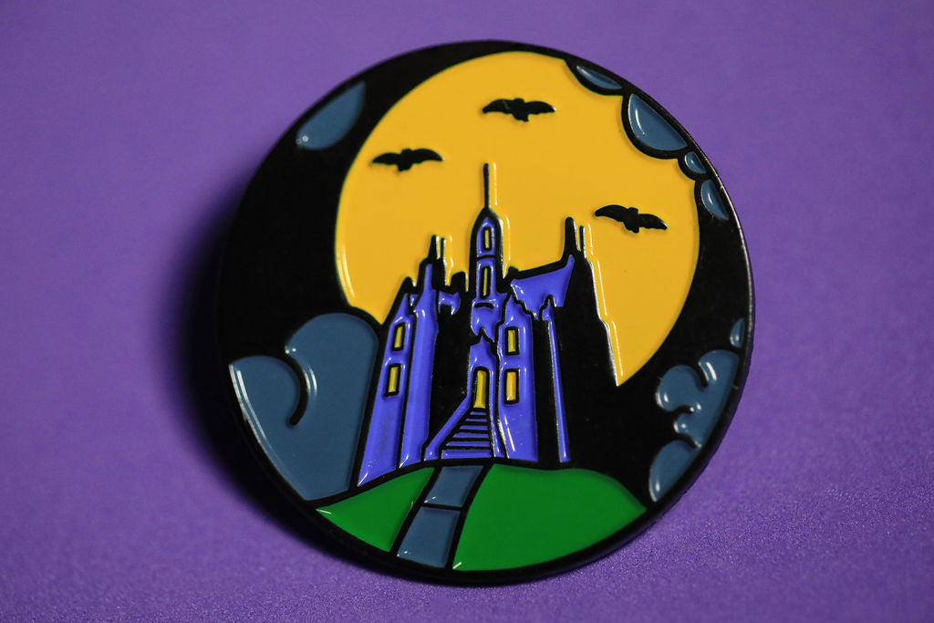 Ghostly Retreat  - Enamel Pin