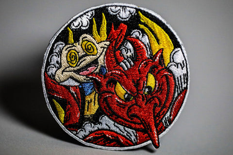 Nowhere Fast - Embroidered Patch