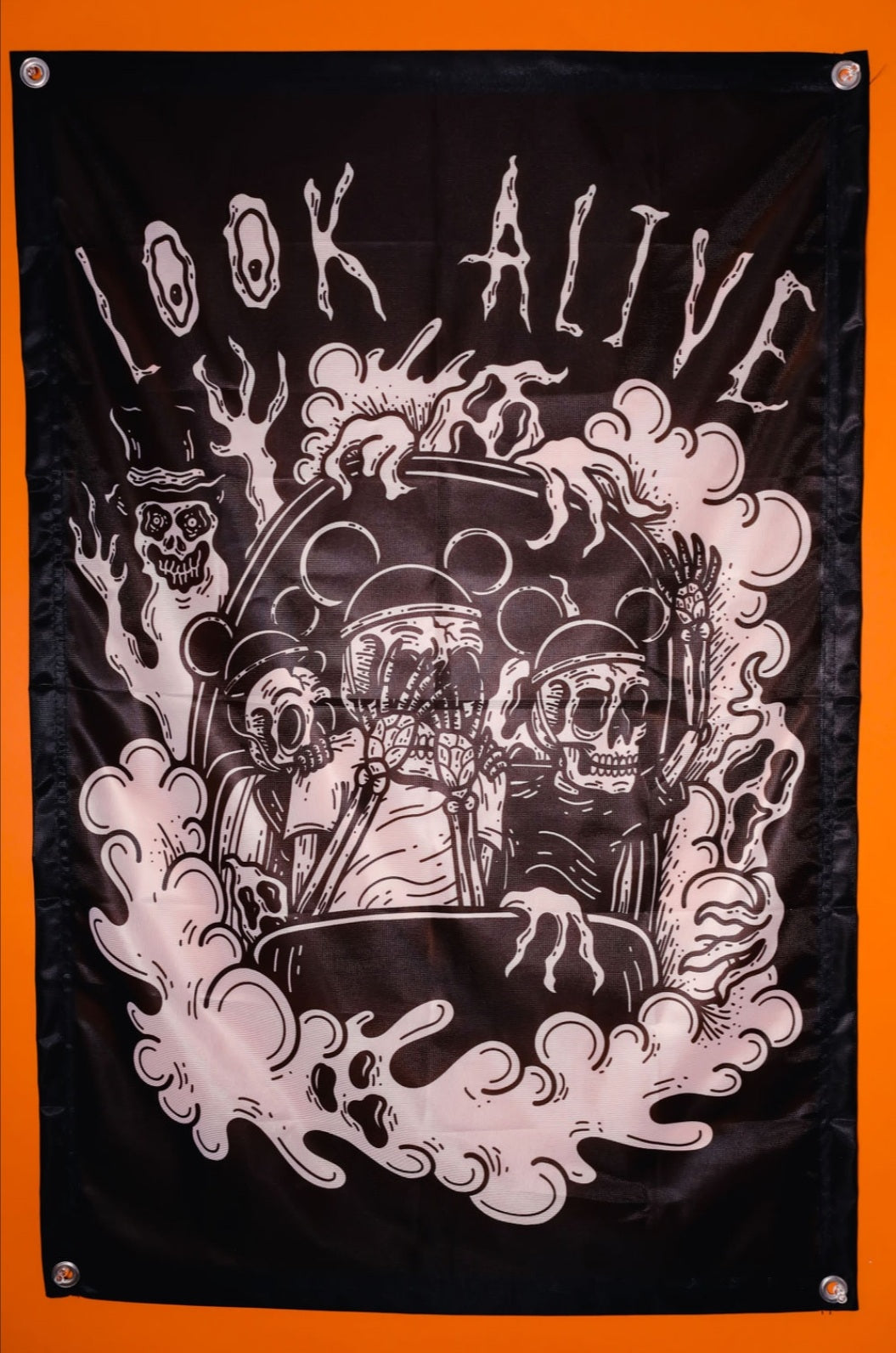 Look Alive - Wall Flag