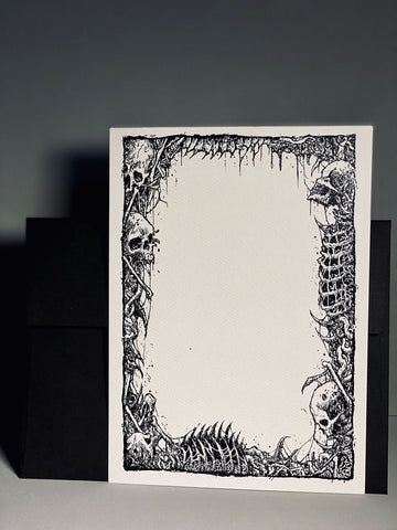 Tomb of the Exiled - Stationery Card