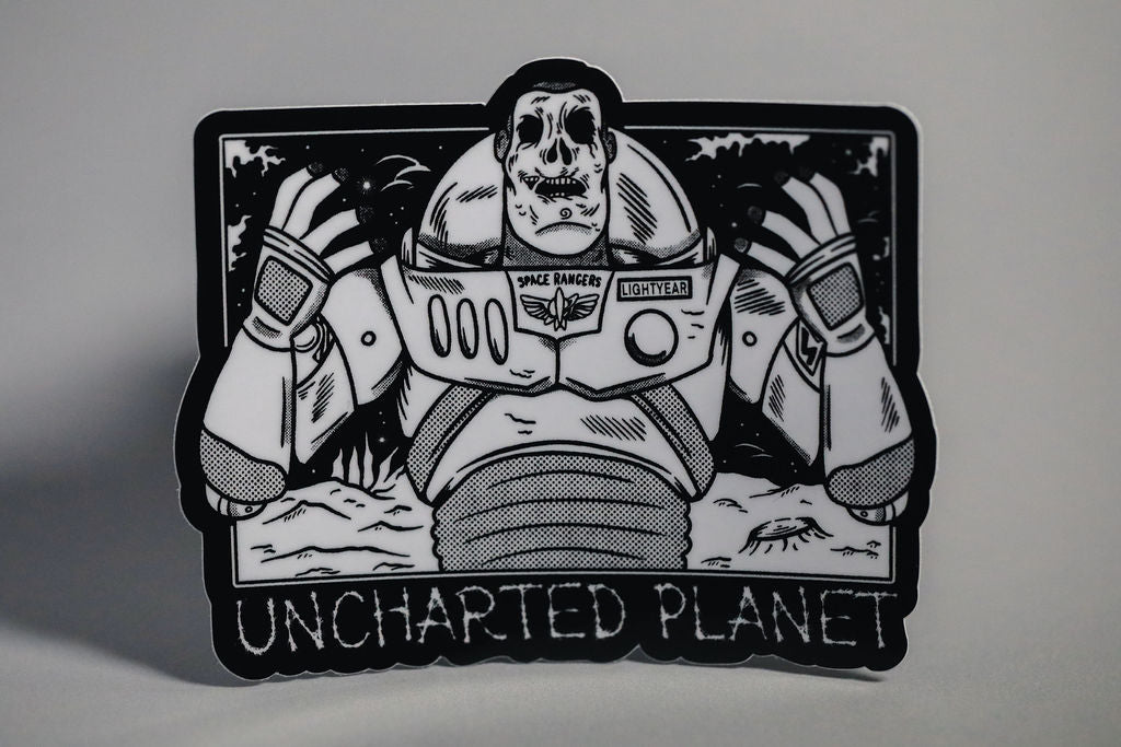 Uncharted Planet -Sticker