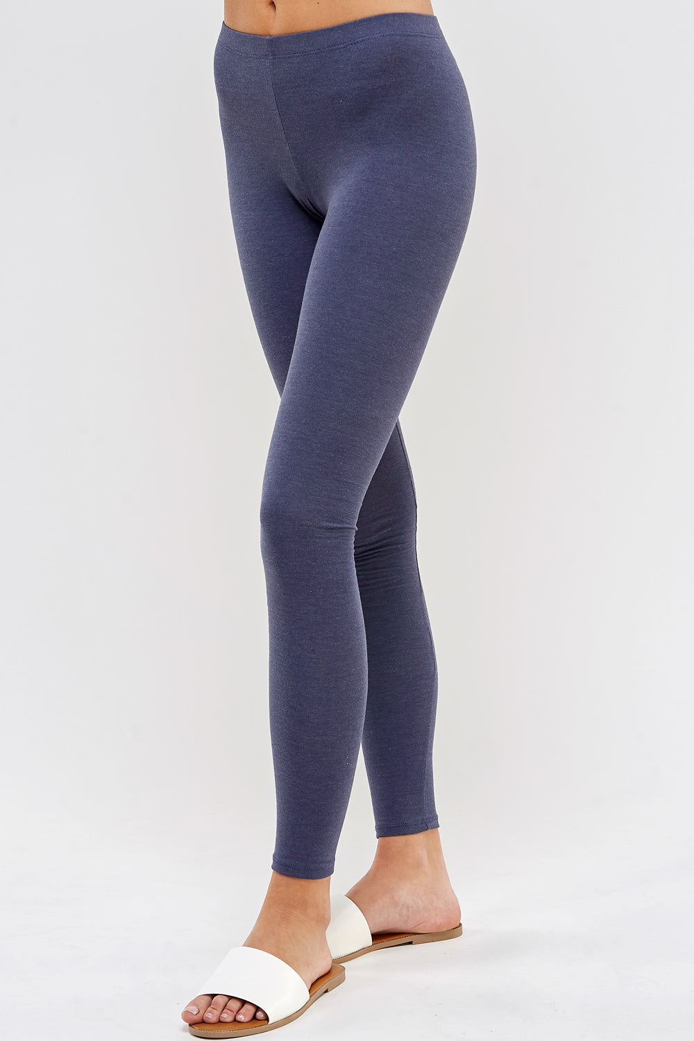 urban x apparel, urban x clothing, urbanxapparel, urbanxclothing, wholesale, women clothing, bohemian, free people, free spirit, young contemporary, fashion trend, fashion style, fashion 2019,RETAIL, Solid Basic Cotton Leggings Active wear Color Denim, URBAN X APPAREL