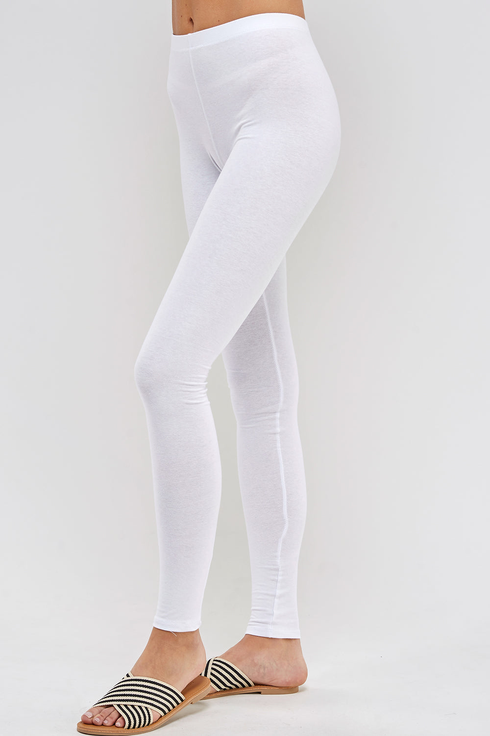 urban x apparel, urban x clothing, urbanxapparel, urbanxclothing, wholesale, women clothing, bohemian, free people, free spirit, young contemporary, fashion trend, fashion style, fashion 2019,RETAIL, Solid Basic Cotton Leggings Active wear Color White, URBAN X APPAREL