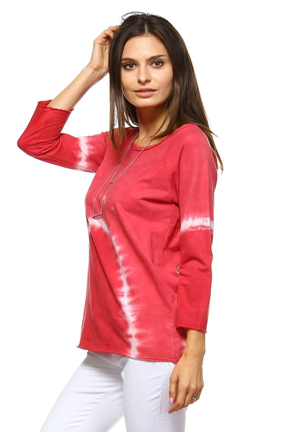 URBAN X APPAREL-Style UTF0093G-TOPS-Wholesale-blowout sale event-Women Apparel-Fashoin Go-La showroom-Orange Shine