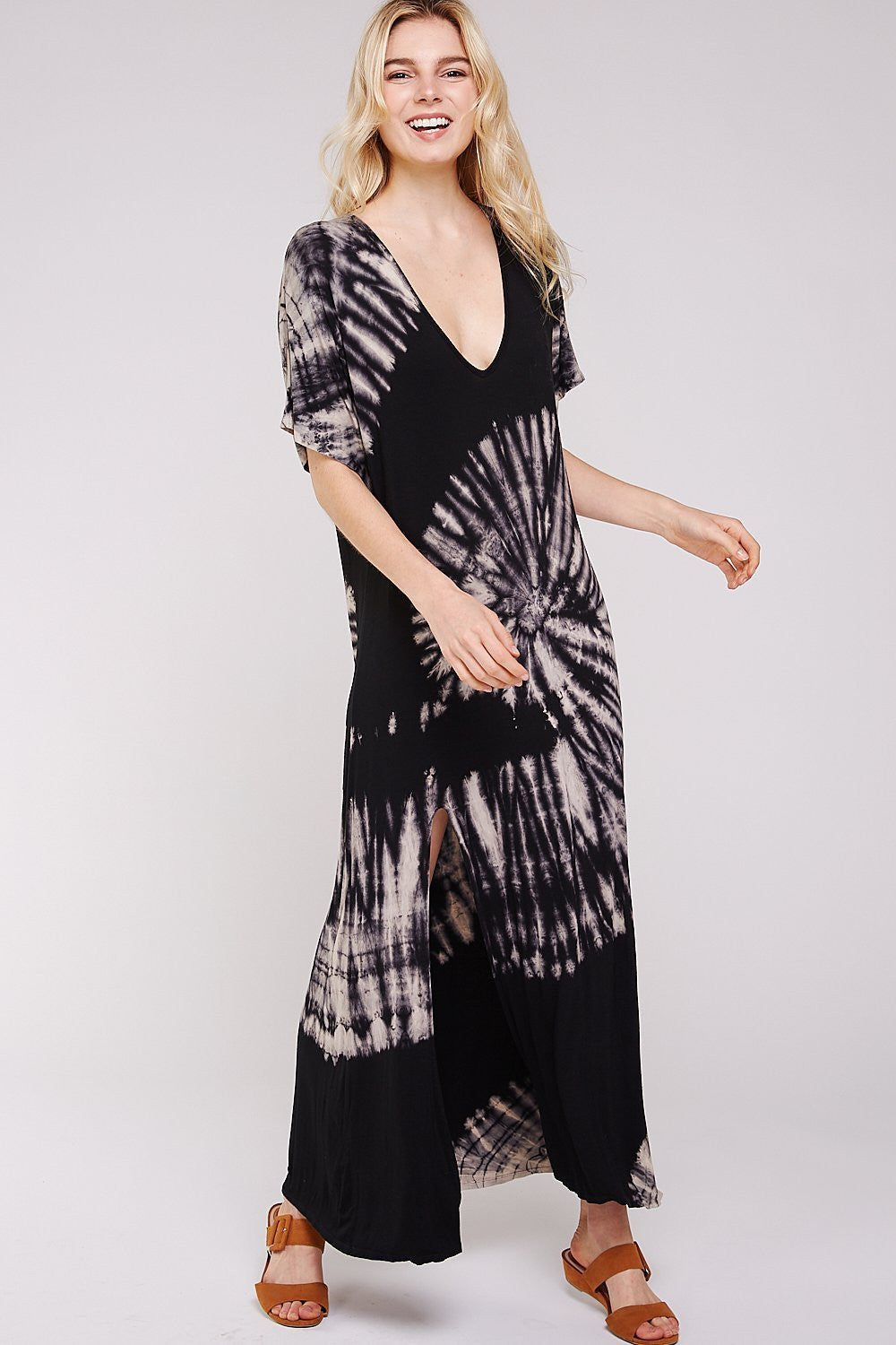 Wholesale Clothing, Online Wholesale Clothing, Women Clothing, Bohemian, Free People, tiedye, specialty wash, wholesale seller, wholesale women clothing shop, gypsy look, USA made, URBAN X APPAREL-MAXI-UDR195, fashiontrend2019