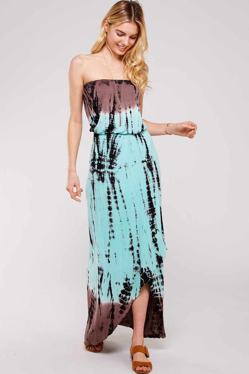 Wholesale Clothing, Online Wholesale Clothing, Women Clothing, Bohemian, Free People, tiedye, specialty wash, wholesale seller, wholesale women clothing shop, gypsy look, USA made, URBAN X APPAREL-DRESSES-UDR7014MM, fashiontrend2019